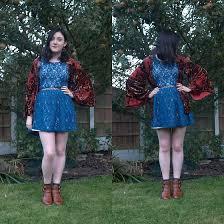 esther newman forever 21 turquoise lace dress tk maxx kimono