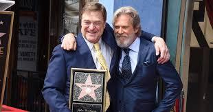 john goodman gets hollywood walk of fame star as jeff bridges pays