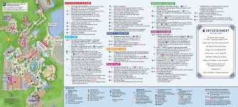 Universal Orlando Map 2015 by Disney U0027s Hollywood Studios Map At Walt Disney World
