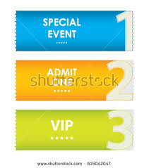 admit one tickets special christmas design stock vector 114509146