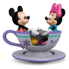 teacup for two mickey and minnie mouse ornament keepsake