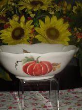 thanksgiving serving bowl ebay