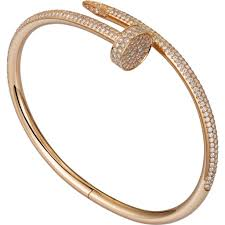 cartier bracelet pink gold images Cartier juste un clou bracelet pink gold 374 diamonds best jpg