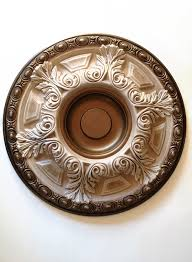 Bronze Ceiling Medallion by Architectural Elements