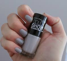 life as leah makeup review maybelline colorshow nail polish