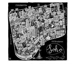 Soho Nyc Map Soho Map My Blog