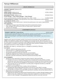 executive resume samples sarah cronin consulting