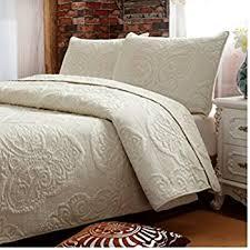 Queen Size Bed Comforter Set Amazon Com Chic Home Rosetta 5 Piece Comforter Set Queen Beige