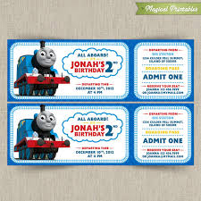 birthday invites excellent thomas birthday invitations designs