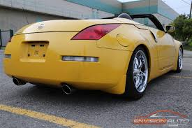 nissan 350z custom 2005 nissan 350z roadster u2013 custom appearance pkg envision auto
