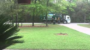Waste Management Christmas Tree Pickup by Tallahassee Waste Management Fail Youtube
