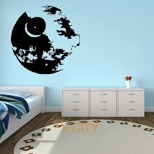 pochoir mural chambre wars vinyle mur autocollant sticker enfants