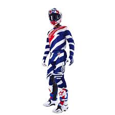 troy lee motocross helmets lee designs se air jersey and pants combo