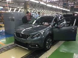 car peugeot 2008 iran u0027s president launched production line of 2 new cars