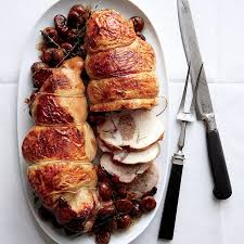 boudin blanc stuffed turkey with chestnuts recipe