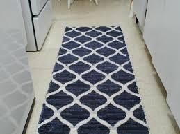 kitchen 44 gray square pattern padded kitchen mats area rugs