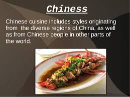 cuisine types types of food