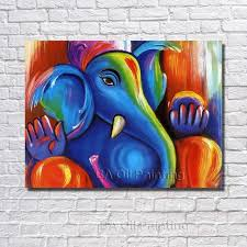 paintings for home decoration 2017 unframed hand painted red