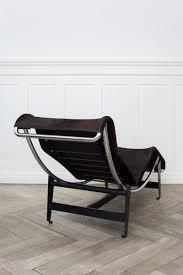 Esszimmerst Le Schwarz Leder Lc4 B306 Liege Von Le Corbusier Pierre Janneret U0026 Charlotte