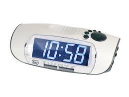 sveglia comodino drp30626 radio sveglia trevi display digitale tavolo x