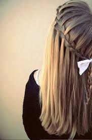 tutorial rambut waterfall girls waterfall braid hairstyle