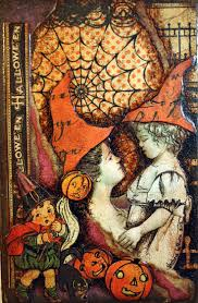 antique halloween flying witch background 3128 best an ode to halloween images on pinterest happy