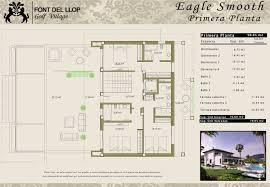 Upstairs Floor Plans by Villa Eagle Smooth Font Del Llop Golf Village