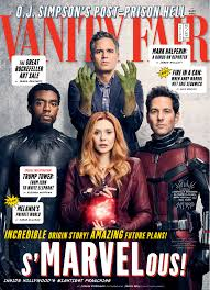 marvel heroes take over vanity fair for 2017 holiday issue