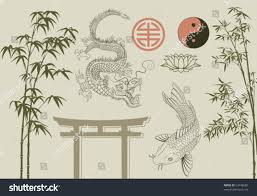 Home Design Elements Asian Design Elements Stock Vector Shutterstock Awesome Home Zhydoor