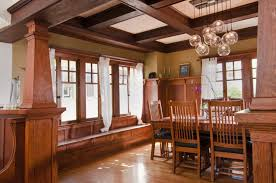 mission style dining room craftsman style dining room lighting formal ceilings house plans