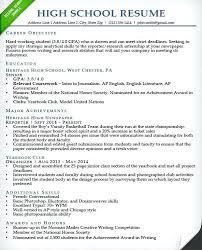 resume exles for college internships chicago sle college resume for high seniors