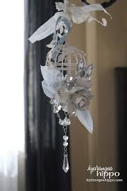 how to make a birdcage chandelier altered bird cage youtube