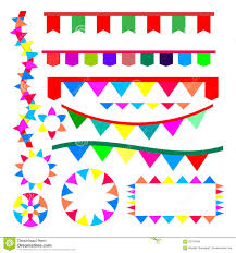 party ribbon ribbon for party vector stock vector illustration of watercolor