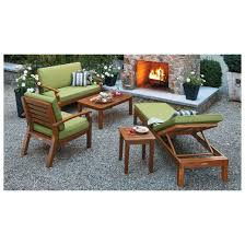 Patio Chairs Wood Brooks Island Wood Patio Furniture Collection Smith U0026 Hawken