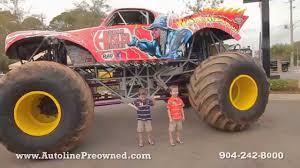 duquoin monster truck show the monster jam truck war wizard visits autoline youtube