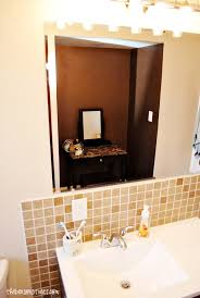 Accent Wall In Bathroom How To Paint A Metallic Accent Wall Modernmasters The Benson Street