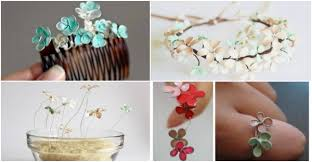 how to make beautiful nail polish flower jewelry how to instructions