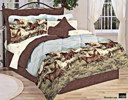 Girls Horse Themed Bedding by Horse Bedding Horse Bed In A Bag Horse Comforter Bedding And