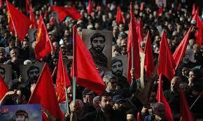 bid farewell imam khomeini iranians bid farewell to iconic martyr mohsen hojaji