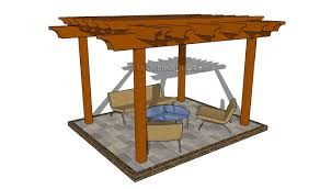 Attached Pergola Plans by Divine Pergolas To Shade Seating Areas Home Design Lover As Wells