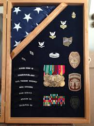 3x5 Flag Display Case With Certificate 12x24 Shadow Box With 3x5 Corner Flag By Greg Seitz Woodworking