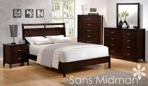 new kingston collection espresso king size bed 6 pc set bedroom