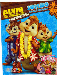 wholesale alvin chipmunks coloring book sku 1930492