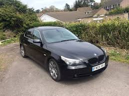 bmw e60 530d se auto 2004 grey leather seats in dursley