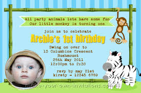 make homemade safari invitations for your childs birthday