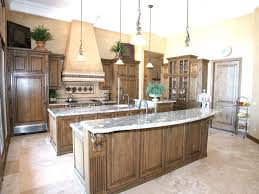 Kitchen With Two Islands White Kitchen Cabinets With Granite Countertops Luxury Kitchen