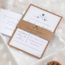 layered wedding invitations birds rustic barn layered wedding invitations ewls047 as low