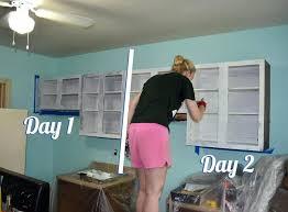 diy paint laminate cabinets refinish laminate kitchen cabinets hitmonster