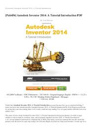 review autodesk inventor 2014 a tutorial introduction pdf 8dd48