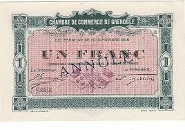 chambre des commerce grenoble 1 franc 14 sept 1916 chambre de commerce de grenoble annule neuf